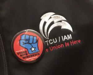 TCU/IAM Stands with Wisconsin!