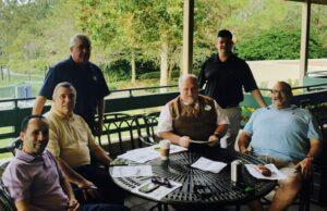 TCU NVP & Legislative Director Ron Kloos meeting with local TCU officials in Florida